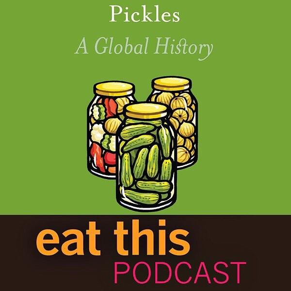 Latest episode -- link in bio -- is a chat with Jan Davison, author of Pickles: A Global History. Listen to the end and you could win a copy.