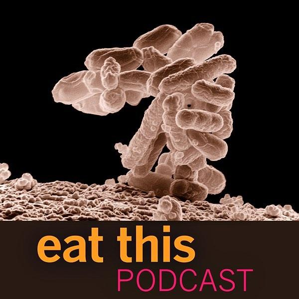 Latest episode looks at food-borne illness. Are industrial food chains worse than farmers' markets? Nobody knows. Listen at https://www.eatthispodcast.com/food-safety-and-industry-concentration/
