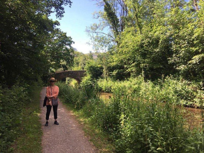 Canal walk.