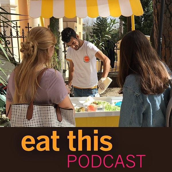 Latest episode: A visit to Hummustown. Talking to @shaza.saker and the people who make and eat the delicious food that is giving Syrian refugees dignity and independence, and giving Romans a taste of Syria. https://www.eatthispodcast.com/a-visit-to-hummustown/