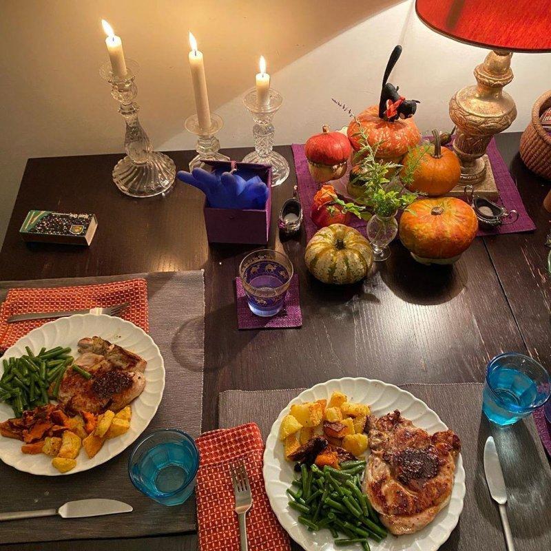 Spooooky feast.