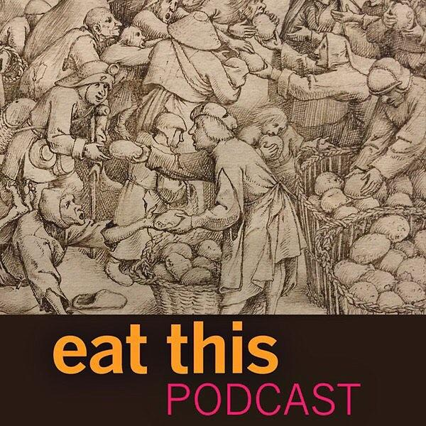 The latest episode hears a freelance food historian talk about the history of bread. It was a fun chat and just a tad exasperating so please, if you're tempted to hurl a loaf at your podcast player, please make it a nice squishy supermarket loaf.  Episode at https://www.eatthispodcast.com/william-rubel/ and clickable link in the bio, as usual.