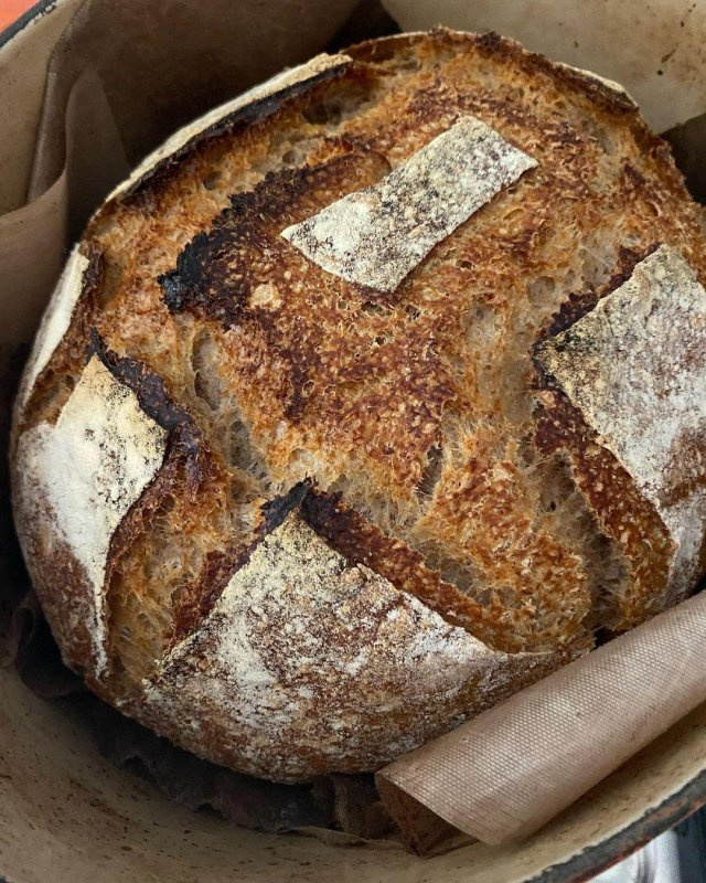 Too hot to be baking, but we have to eat, it is only one loaf, and it is Lammas Day.