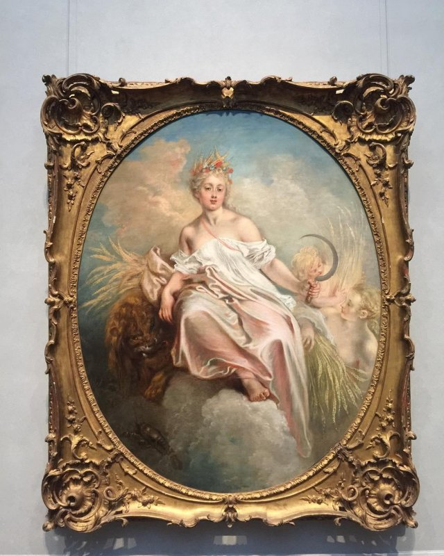 Definite kudos to @flourambassador for her forthcoming series on women in grain. Really looking forward to reading what she has to say. In the meantime, here's a little European patriarchy, Watteau's Ceres.