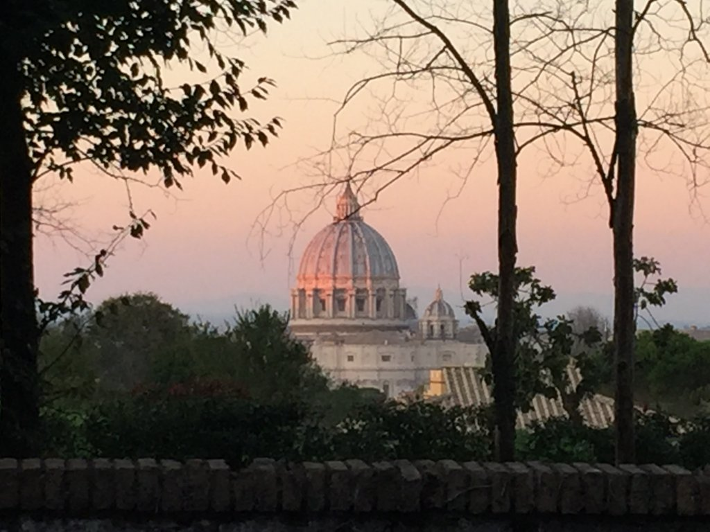 St Peter's in the gloaming