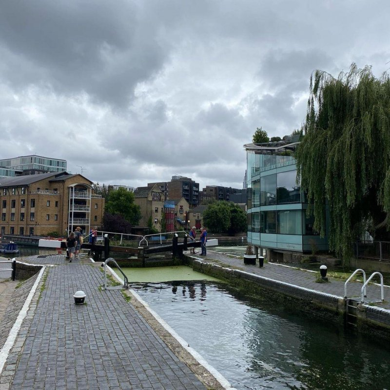 Yesterday's walk from Islington to Limehouse along the Regent's Canal