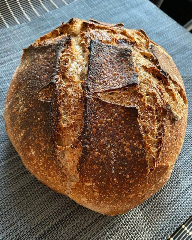 One of the resultant loaves
